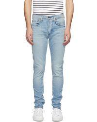 Rag & Bone - Blue Fit 1 Jeans - Lyst