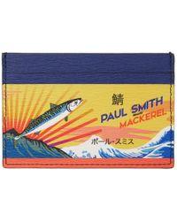Paul Smith - Multicolour Mackerel Can Card Holder - Lyst