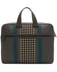 Bottega Veneta - Grey Medium Bv Club Briefcase - Lyst