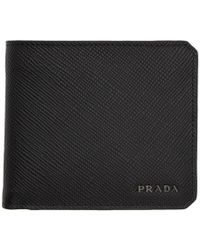 4ef836090caa Prada Wallets - Men's Prada Wallets & Card Holders Online Sale - Lyst
