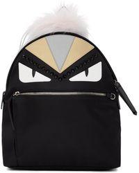 Fendi - Black Bag Bugs Zaino Backpack - Lyst