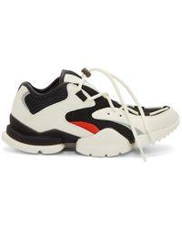 Reebok - White And Black Run.r 96 Sneakers - Lyst