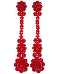 Simone Rocha - Red Victorian Earrings - Lyst