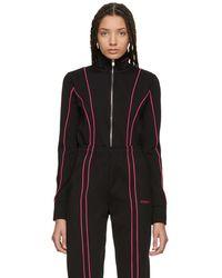 MISBHV - Black And Pink Aspen Track Jacket - Lyst