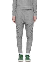 DSquared² | Grey Dean Lounge Trousers | Lyst