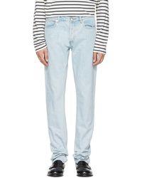 A.P.C. - Blue Petit New Standard Jeans - Lyst