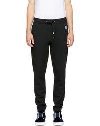 KENZO - Black Tiger Crest Lounge Trousers - Lyst