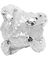 Pearls Before Swine - Silver Single Raw Diamond Earring - Lyst