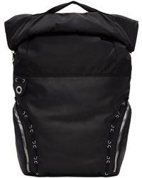 aa17a23f7110 Diesel Black Gold - Black Hiking Backpack - Lyst