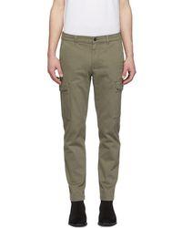 Belstaff - Khaki Oak Turnpike Trousers - Lyst