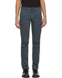 Belstaff - Blue Larsson Cargo Pants - Lyst