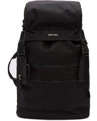 DIESEL - Black F-urbhanity Ii Backpack - Lyst