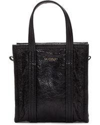 Balenciaga - Black Xxs Bazar Shopper Tote - Lyst