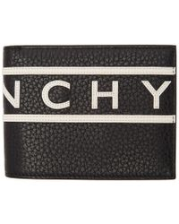 Givenchy - Black Reverse Logo Wallet - Lyst