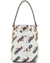 Fendi - Mini Mania Mon Tresor Bucket Bag - Lyst
