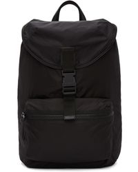 Givenchy - Black Nylon Stars Tape Obsedia Backpack - Lyst