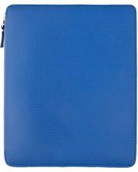 Comme des Garçons | Blue Leather Ipad Case | Lyst