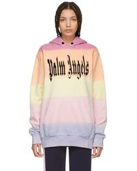 Palm Angels - Multicolor Gothic Rainbow Hoodie - Lyst