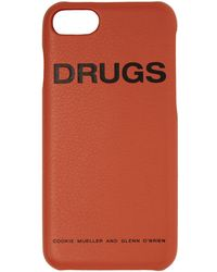 Raf Simons - Orange Drugs Iphone 7 Case - Lyst