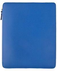 Comme des Garçons - Blue Leather Ipad Case - Lyst