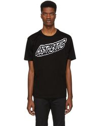 DIESEL - Black T-wallace-yc T-shirt - Lyst