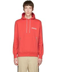 Tim Coppens - Red 'in My Heart' Wave Hoodie - Lyst