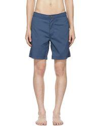 Onia - Blue Calder Swim Shorts - Lyst