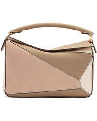 Loewe - Pink Medium Puzzle Bag - Lyst
