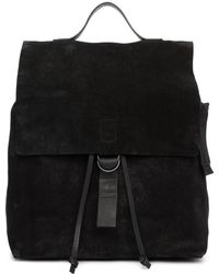 Marsèll - Black Suede Cartaino Backpack - Lyst