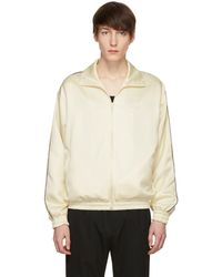 Cmmn Swdn | Ivory Bret Track Jacket | Lyst
