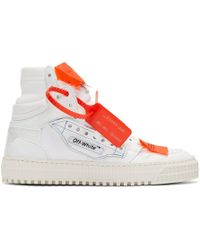 Off-White c/o Virgil Abloh - Baskets blanches 3.0 Off-Court - Lyst