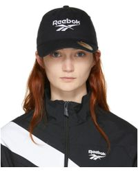 Reebok - Black Lost Found Cap - Lyst