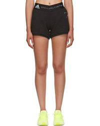 adidas By Stella McCartney - Black Ess Shorts - Lyst