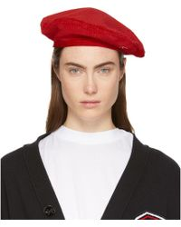 Opening Ceremony - Red Corduroy Beret - Lyst