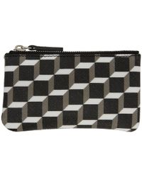 Pierre Hardy - Black And White Maroquinerie Coin Pouch - Lyst