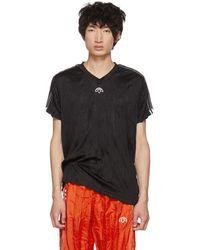 Alexander Wang - Black Regular Soccer Jersey T-shirt - Lyst