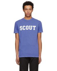 DSquared² - Blue Scout Long Cool T-shirt - Lyst