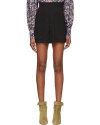 Isabel Marant | Black Lucky Shorts | Lyst