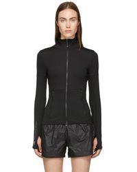 adidas By Stella McCartney - Black P Ess Midlayer Sweatshirt - Lyst