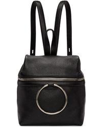 Kara - Ssense Exclusive Black Small Ring Backpack - Lyst