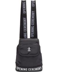 Opening Ceremony - Black Mini Logo Backpack - Lyst