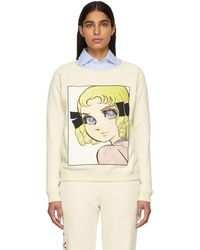 Gucci - Off-white Manga Sweatshirt - Lyst