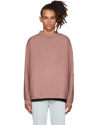 Simon Miller - Pink Long Sleeve Gage T-shirt - Lyst