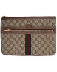 b5ba94aa1 Gucci Brown Neo Vintage Gg Supreme Belt Bag in Brown - Lyst