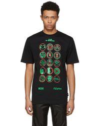 KTZ - Black Scout Patch T-shirt - Lyst