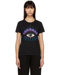 KENZO - Black Eye Classic T-shirt - Lyst