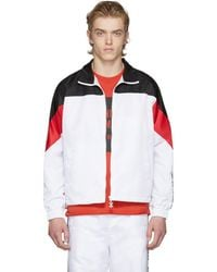 Opening Ceremony - White And Black Limited Edition Warm Up Jacket - Lyst