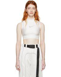 Nike - White Ambush Edition Nrg Crop Tank Top - Lyst