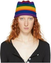 Marc Jacobs - Multicolour Redux Grunge Rainbow Beanie - Lyst