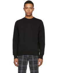 PS by Paul Smith - Black Regular Fit Sweatshirt - Lyst